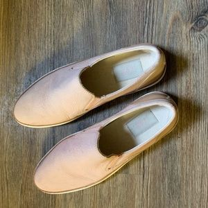 Ugg nude-pink slip on sneakers